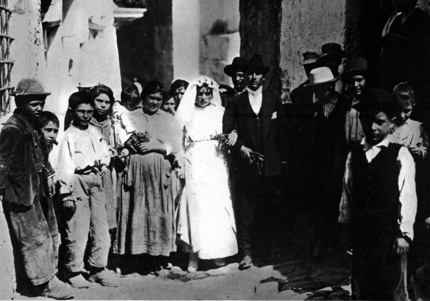 Matrimonio celebrato nel 1919