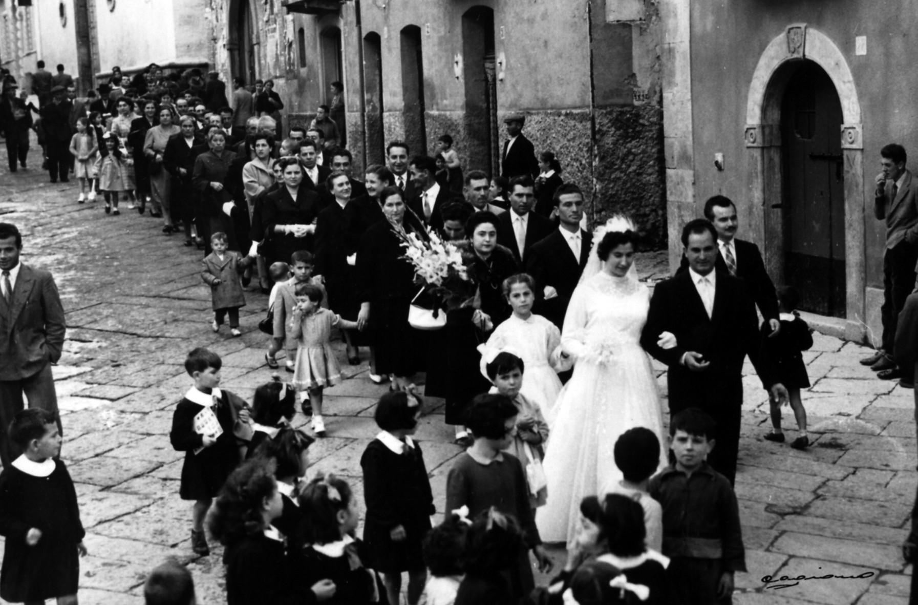 Matrimonio celebrato nel 1955